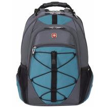 Swissgear Laptop Computer Backpack Sa6799 (grey Tin/ Teal) F