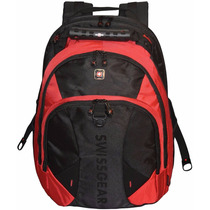 Swissgear® Pulsar 16 Padded Laptop Backpack - Black/red