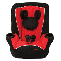 Disney, Mickey Y Minnie Asiento Convertible Auto Niño Y Niña