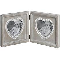 Photo Frame - Doble Corazón Elegante Lamentable Fotografía