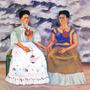 Lienzo Tela, Las Dos Fridas Por Frida Kahlo 1939, 1 X 1 M