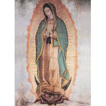 Lienzo Tela, Virgen De Guadapupe, Certificada, 100 X 150 Cm