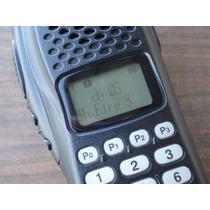 Radio Portatil Icom Con Logo Syscom Uso Rudo Pantalla Id