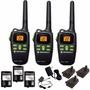 Kit De Radios Motorola Md200tpr Walkie Talkie 3pack