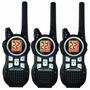 Kit 3 Radios Motorola 56km (35 Millas) Mr350tpr Manos Libres