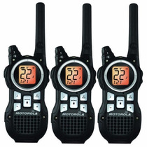 Kit 3 Radios Motorola 56km (35 Millas) Mr350tpr Manos Libres