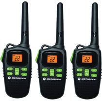Motorola Md200tpr Frs Paquete De 3 Radios, Dos Vias