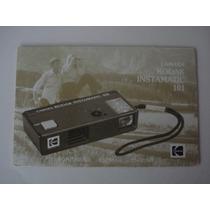 Manual De Camara Kodak De Los 70 En 3 Idiomas