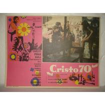 Carlos Piñar, Cristo 70, Cartel De Cine