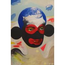 Poster 40x60 Calidad Fotografica Pintura Moderna Retrato