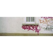 Cerca-arriba De Grafiti En La Pared Stuttgart