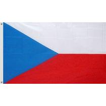 Bandera De República Checa 1.5mts De Largo X 90cm De Alto.