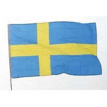 Bandera De Suecia 1.5mts De Largo X 90cm De Alto.