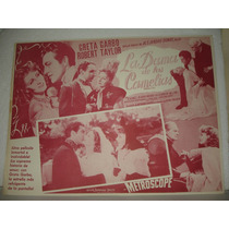 Greta Garbo, La Dama De Las Camelias, Cartel De Cine