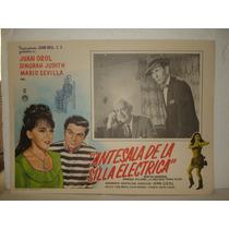 Dinorah Judtih,antesala De La Silla Electrica,cartel De Cine