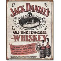 Poster Metalico Anuncio Jack Daniel