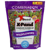 X-seed X-pand Mix Semillas Combinación Ultra Wildflower 1-li