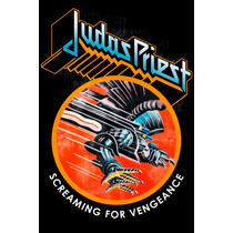 Judas Priest - Screaming For Vengeance Poster 30x46cm Heavy