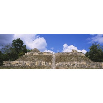 Poster (91 X 30 Cm) Old Ruins Of A Temple El Caracol Cayo