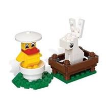 Lego Estacional Conjunto Conejito Y Polluelo En Bolsa (40031