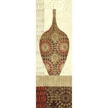 Poster (30 X 91 Cm) Spice Stripe Vessels Panel Iii Wild