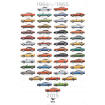 Poster Mustang 50 Años (80x120cm)