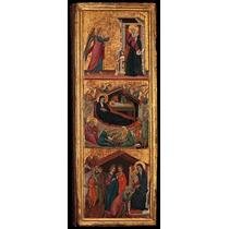 Santos Y Escenas Desde La Vida De La Virgen Cartel