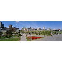 Poster (69 X 23 Cm) Buildings In A City Place Jacques