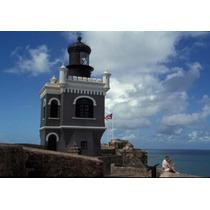 Torre En El Morro Fortaleza Viejo San Juan Puerto Rico
