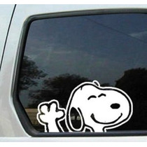 Snoopy Que Agita Decal (7.1 X 4.6 W H)