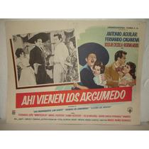 Antonio Aguilar, Ahi Vienen Los Argumedo, Cartel De Cine
