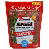 X-seed X-pand Colibrí Y La Mariposa Mix Semillas Combinación