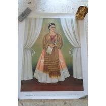 Litografia De Frida Kahlo ,vintage,arte,