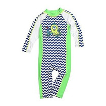 Coolibar Upf 50+ Bebé Mar One Piece Swimsuit - Uv De Baño (6