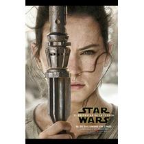 Star Wars Póster Calidad Hd Con Marco Y Vidrio 27x38 Cm