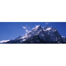 Poster (91 X 30 Cm) Cathedral Group Grand Teton National