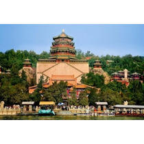 Poster (74 X 49 Cm) The Pavilion Of Buddhist Fragrance At
