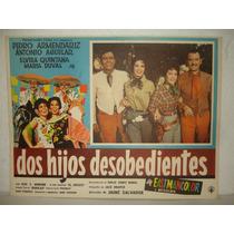 Pedro Armendariz, Dos Hijos Desobedientes, Cartel De Cine