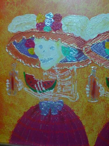 Precioso Cuadro. Firmado Guadalupe Posada