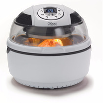 Freidora Electrica Good Cooking De Aire Acero Inox