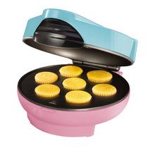 Maquina Para Hacer 7 Mini Cup Cakes Nostalgia Electrics Hm4