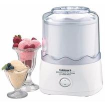Maquina Para Hacer Helados Cuisinart Ice-20 Autom. 1-1/2 Qts