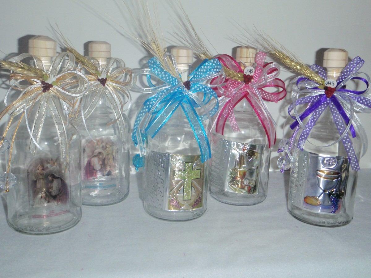 Centro de mesa bautizo car interior design - Centros de mesa con botellas ...