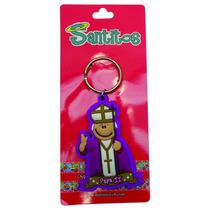 Paquete 30 Pzas Llavero Pvc Papa Juan Pablo I I - Santitos