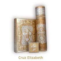Primera Comunión, Biblia, Vela Y Rosario - Repujado