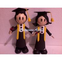 Muñeca De Foami Graduacion Recuerdo