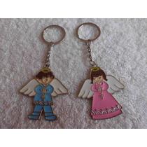 Recuerdo Llavero Grabado Angel Personalizado Bolo Angelito