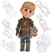 Muñecos Kristoff Anna Elsa Y Más Animator 40cm Disney Store