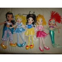 Preciosas Princesas De Tela De Mattel Disney