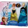 Disney Frozen Set Elsa Anna Y Olaf Preciosos Originales !